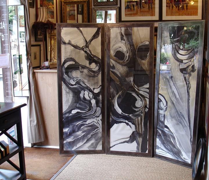 encadrements tableaux modernes id e inspirante pour la conception de la maison. Black Bedroom Furniture Sets. Home Design Ideas