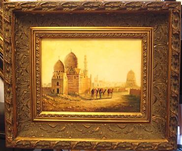 Cadre tableau peinture huile toile artiste peintre evreux for Encadrement de tableau
